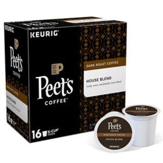 Keurig® K-Cup® Pod Peet's Coffee House Blend Dark Roast Coffee - 16-pk.