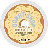 Keurig® K-Cup® Pod The Original Donut Shop Vanilla Cream Puff Medium Roast Coffee - 18-pk.