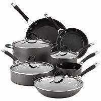 Circulon Momentum 11 pc Nonstick Hard-Anodized Cookware Set