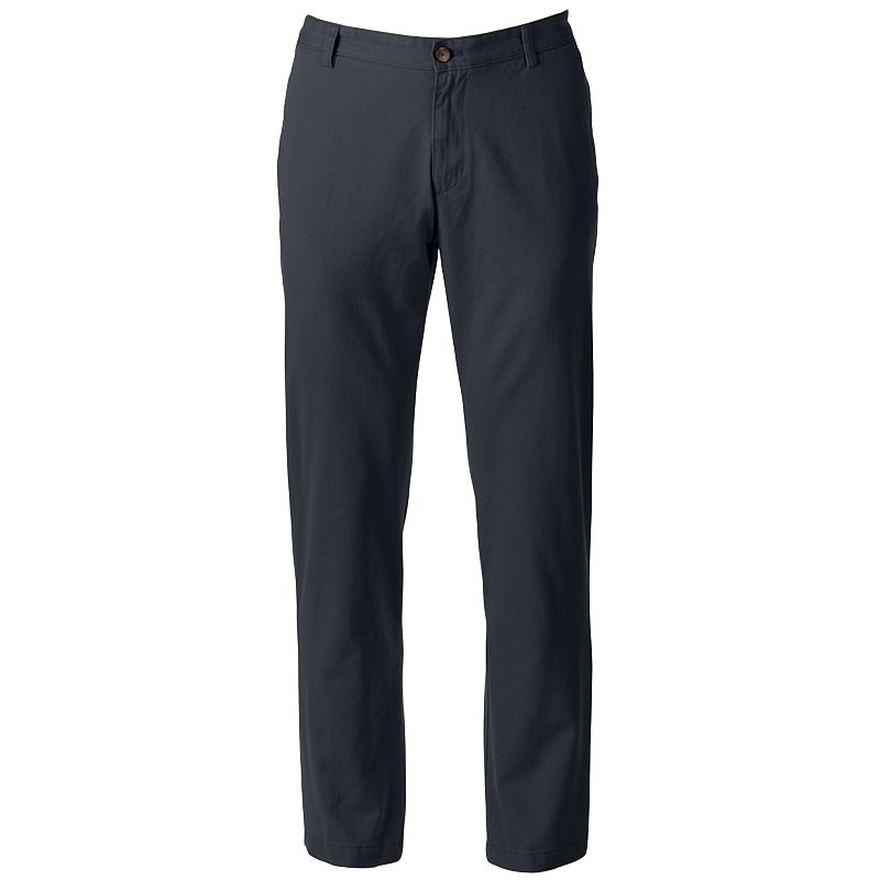 Chaps Slim-Fit Twill Pants - Men