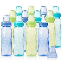 Evenflo Feeding 12 pkClassic Twist Tinted Plastic Bottle