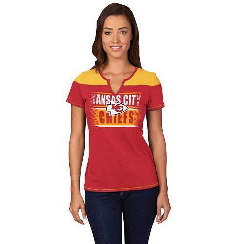 super popular cb1d0 cc60d Women's Majestic Kansas City Chiefs Football Miracle ...