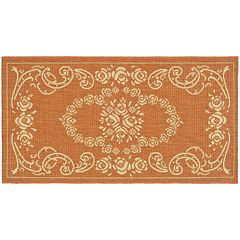 Safavieh Courtyard Cascading Floral Indoor Outdoor Rug