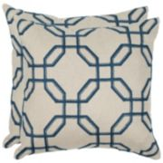 Safavieh 2-piece Hayden Throw Pillow Set