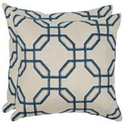 Safavieh 2 pc Hayden Throw Pillow Set