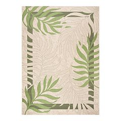 Safavieh Courtyard Ferns Indoor Outdoor Rug