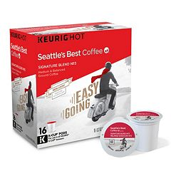 Keurig® K-Cup® Seattle's Best Coffee Signature Blend No. 3 Medium Roast Coffee - 16-pk.
