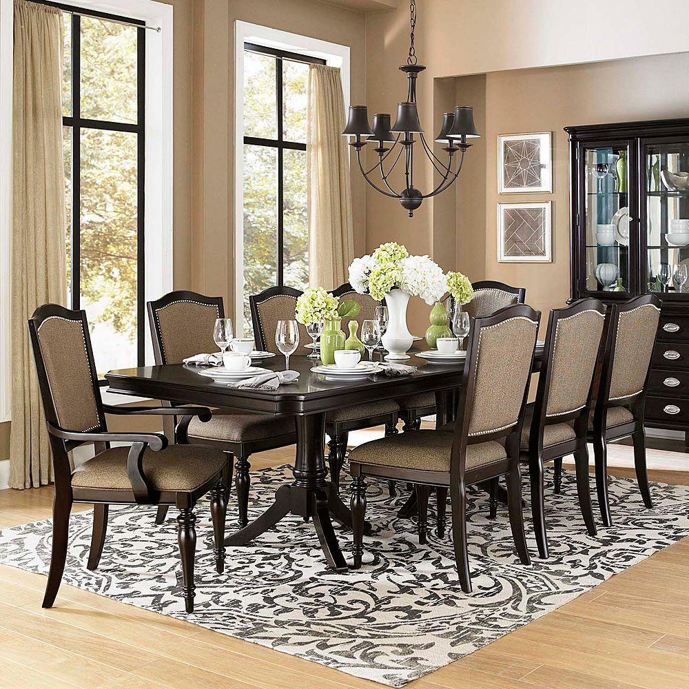 HomeVance Glendale 9 Piece Dining Set