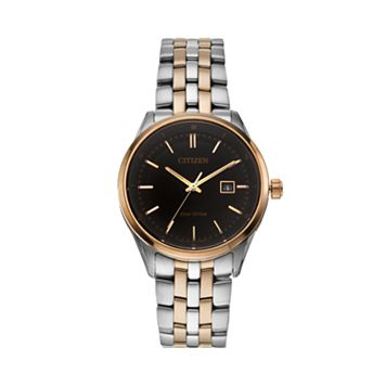 Citizen Eco-Drive Men's Two Tone Stainless Steel Watch - BM7256-50E