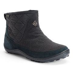 Columbia Crystal Shorty Women's Waterproof Slip-On Winter Boots by
