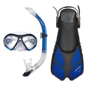 HEAD 3-pc. Xray Sailor Splash Quest Travel Snorkel Set