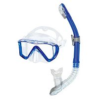 HEAD 2-pc. Manta Marlin Dry Snorkel Set