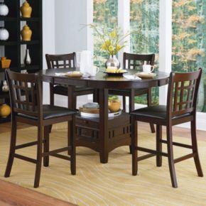 HomeVance Verona 5-piece Counter Height Dining Set