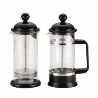 BonJour Coffee 3-pc. La Petite French Press and Milk Frother Set