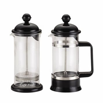 BonJour Coffee 3-pc. La Petite French Press & Milk Frother Set