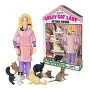 Accoutrements Crazy Cat Lady Action Figure Set