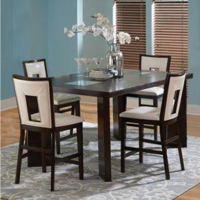Delano 5-piece Counter Dining Set