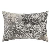 INK+IVY Kiran Paisley Embroidered Throw Pillow