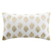 INK+IVY Nadia Metallic Dot 12'' x 18'' Throw Pillow