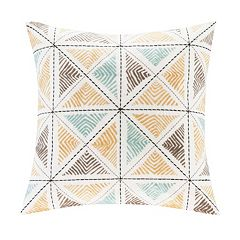 INK+IVY Zelda Embroidered Throw Pillow