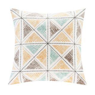 INK+IVY Zelda Embroidered Throw Pillow