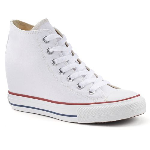 3e5be87ad4e1db Adult Converse Chuck Taylor All Star Lux Hidden Wedge Mid-Top Sneakers