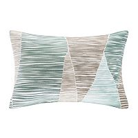 INK+IVY Bengal Line Embroidered Throw Pillow