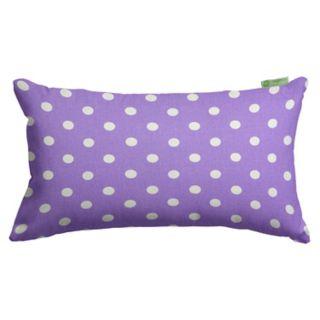 Majestic Home Goods Polka Dot Oblong Throw Pillow