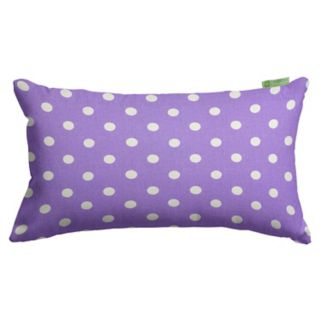 Majestic Home Goods Polka Dot Oblong Throw Pillow