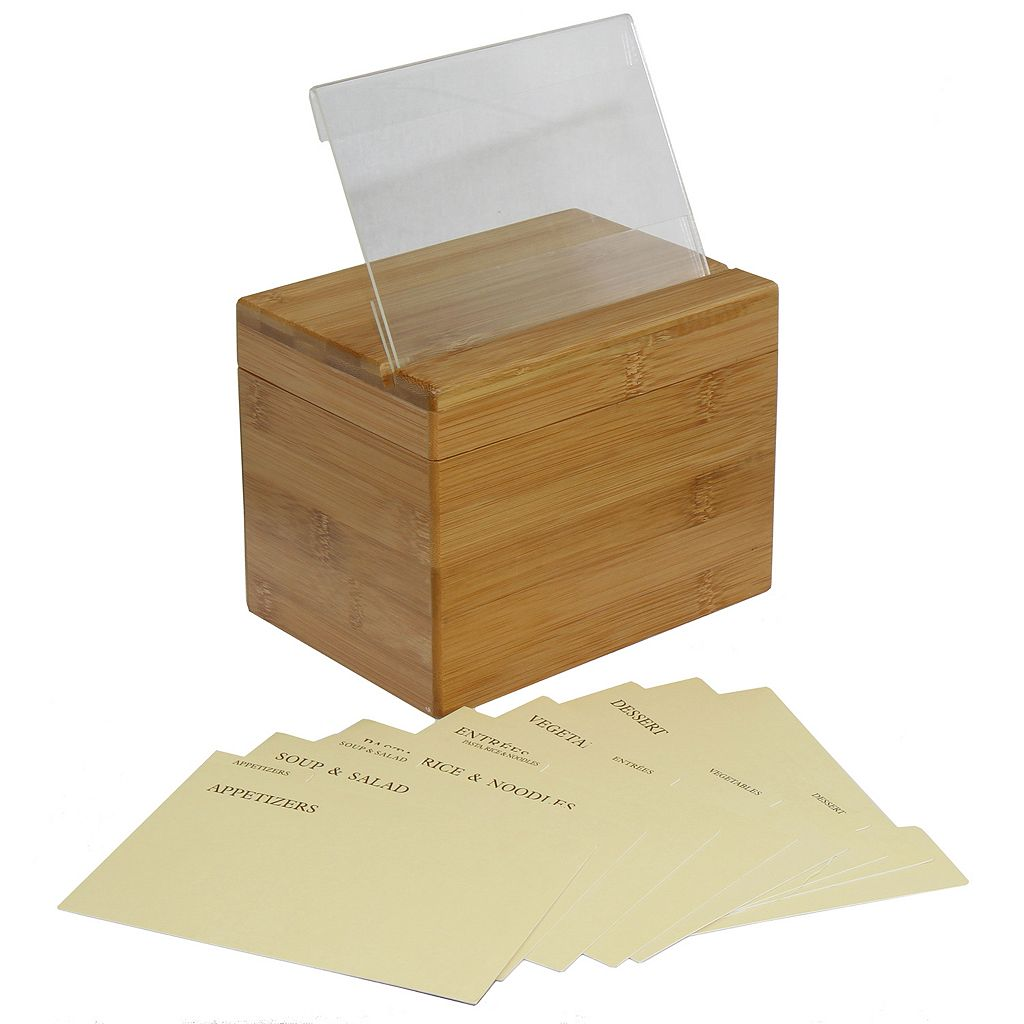 Oceanstar Recipe Box