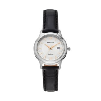 Citizen Eco-Drive Women's Leather Watch - FE1086-04A
