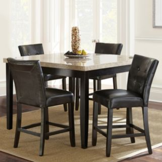 Monarch 5-piece Counter Dining Set