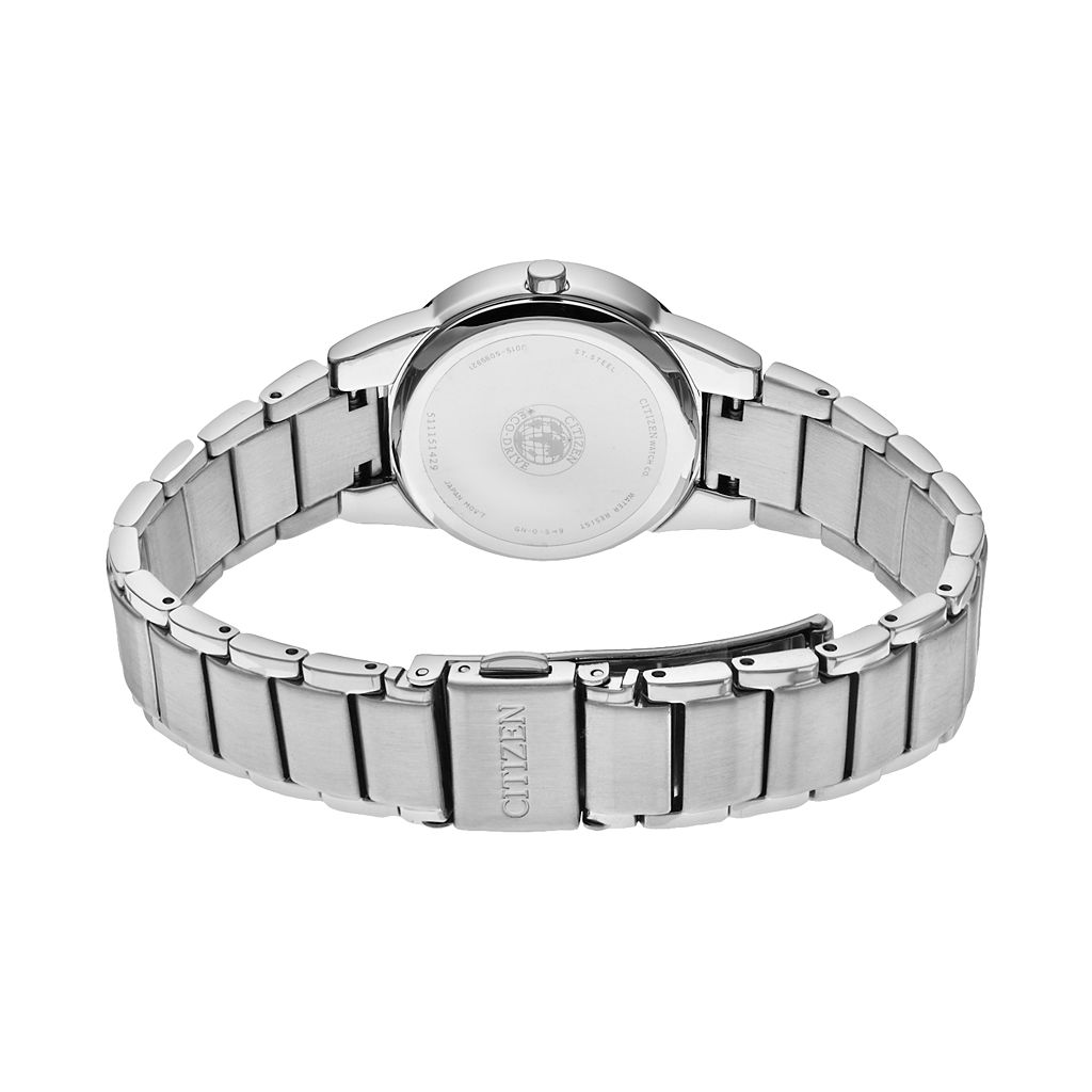 Citizen Eco-Drive Women's Axiom Diamond Stainless Steel Watch - GA1050-51B