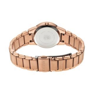 Citizen Eco-Drive Women's Axiom Rose Gold Tone Stainless Steel Watch - GA1058-59Q