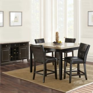 Monarch 6-piece Counter Dining Set
