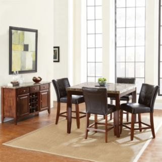 Montibello 6-piece Counter Dining Set