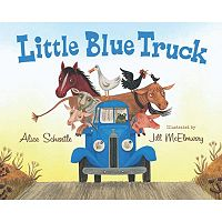 The Little Blue Truck Board Book