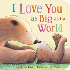 I Love You As Big As The World Book