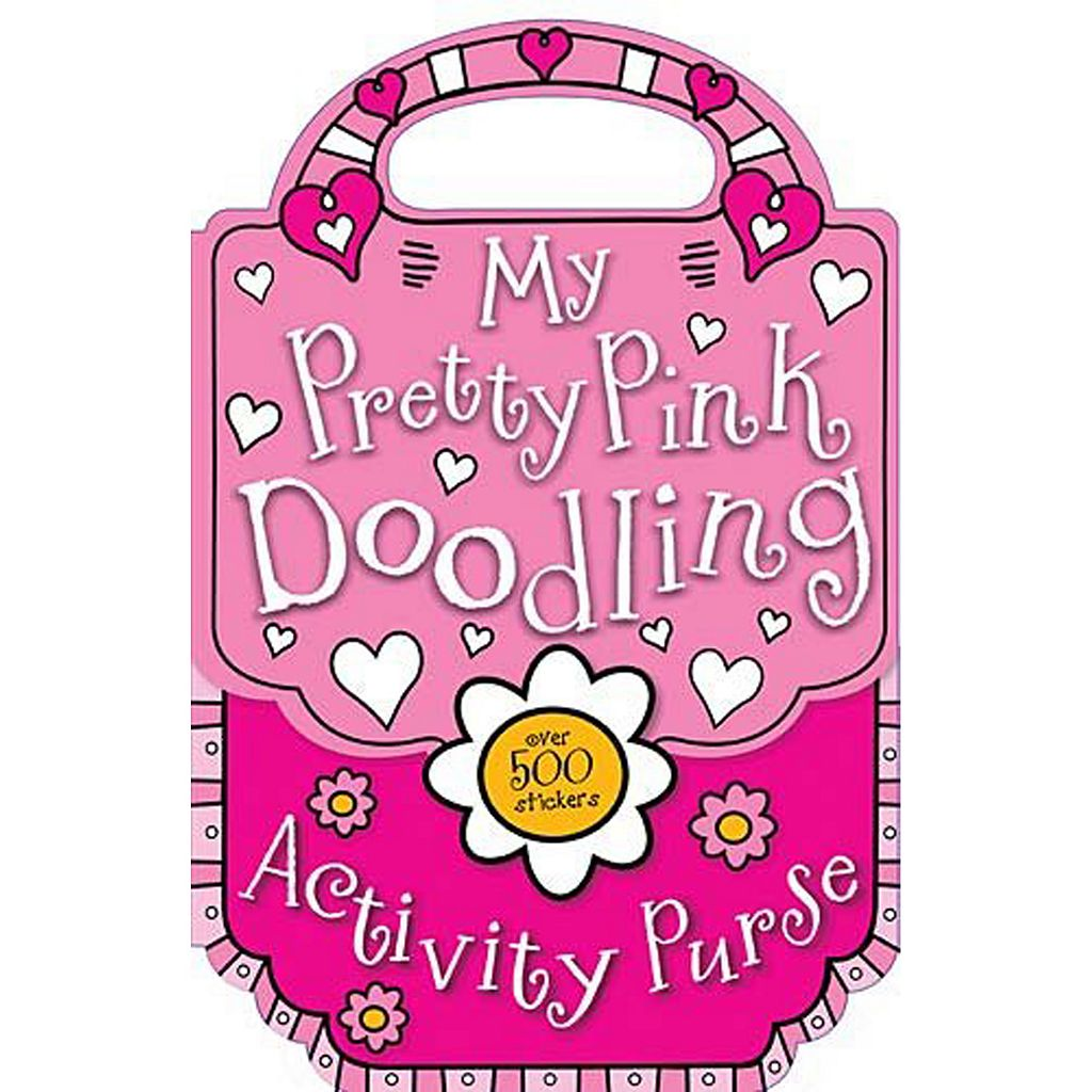 My Pretty Pink Doodling & Sticker Activity Purse Book