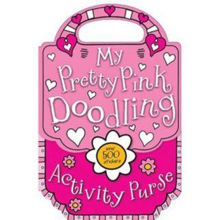 My Pretty Pink Doodling & Sticker Activity Purse Book