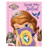 Disney's Sofia the First Guess Who Book