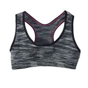 Maidenform Space-Dye Seamless Sports Bra - Girls
