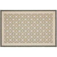 Safavieh Courtyard Floral Pattern Indoor Outdoor Rug