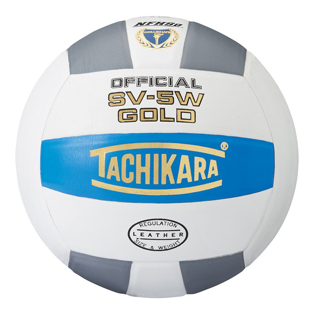 Tachikara Official SV5W Gold Premium Leather Volleyball