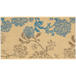 Safavieh Courtyard Floral Vine Indoor Outdoor Rug