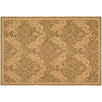 Safavieh Courtyard Floral Print Indoor Outdoor Rug