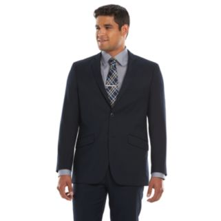 Men's Lazetti Slim-Fit Navy Suit Jacket