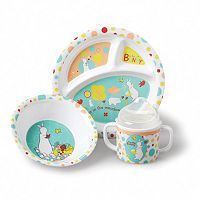 Pat the Bunny Melamine Feeding Set by Kids Preferred