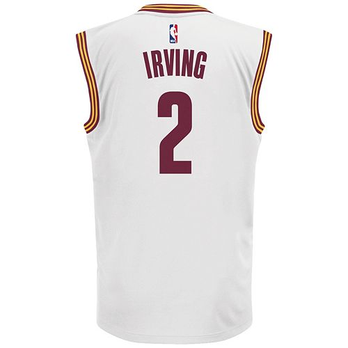 detailed look 7ac88 76e46 Men's adidas Cleveland Cavaliers Kyrie Irving NBA Jersey