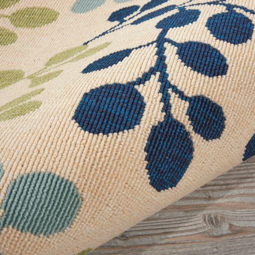 Nourison Caribbean Blossom Indoor Outdoor Rug